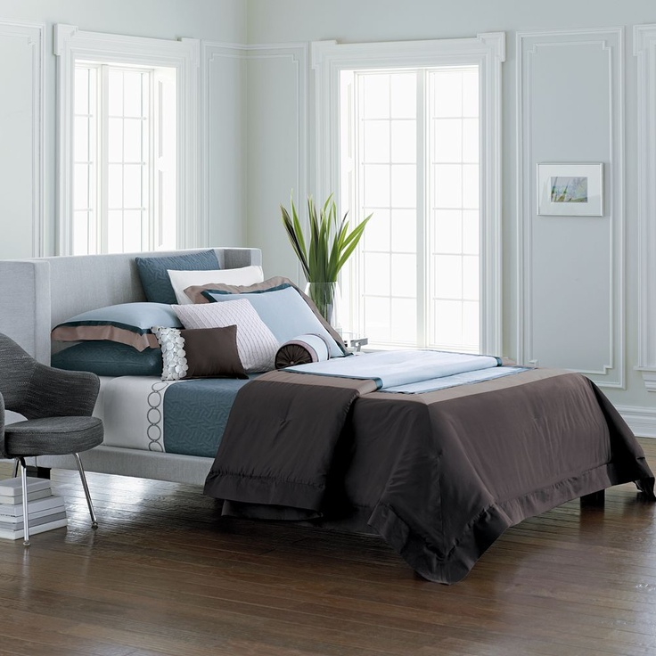 Kohl S Vera Wang Teal Amp Brown Bedding For The Home