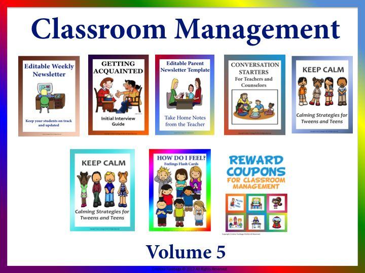 Classroom Management Volume 5