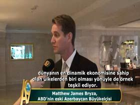 Matthew James Bryza, ABD eski Azerbaycan Büyükelçisi Video