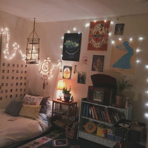 artsy bedrooms | Tumblr bedroom hoe room dorm bedrooms ...