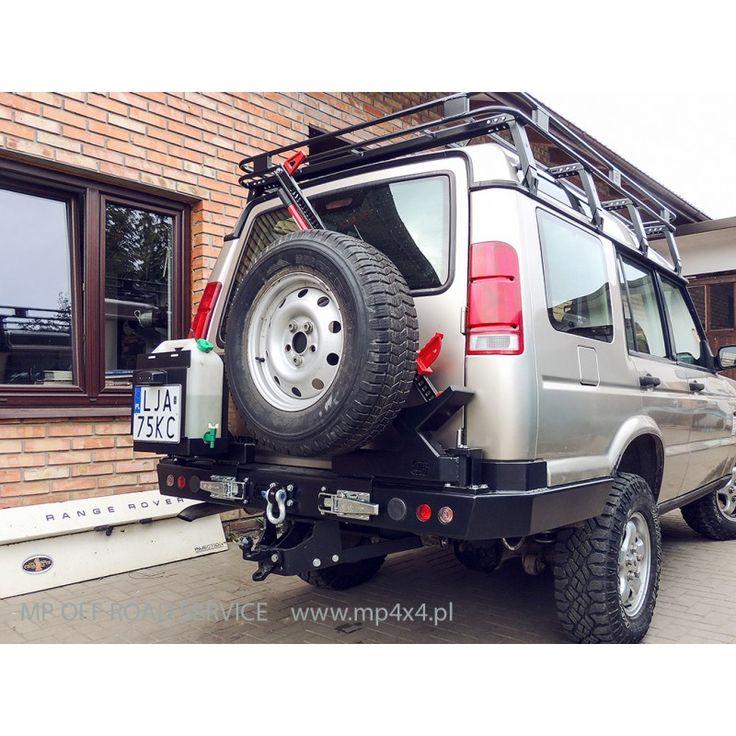 Uchwyt na koło zapasowe i podnośnik hilift do Land Rover Discovery 2