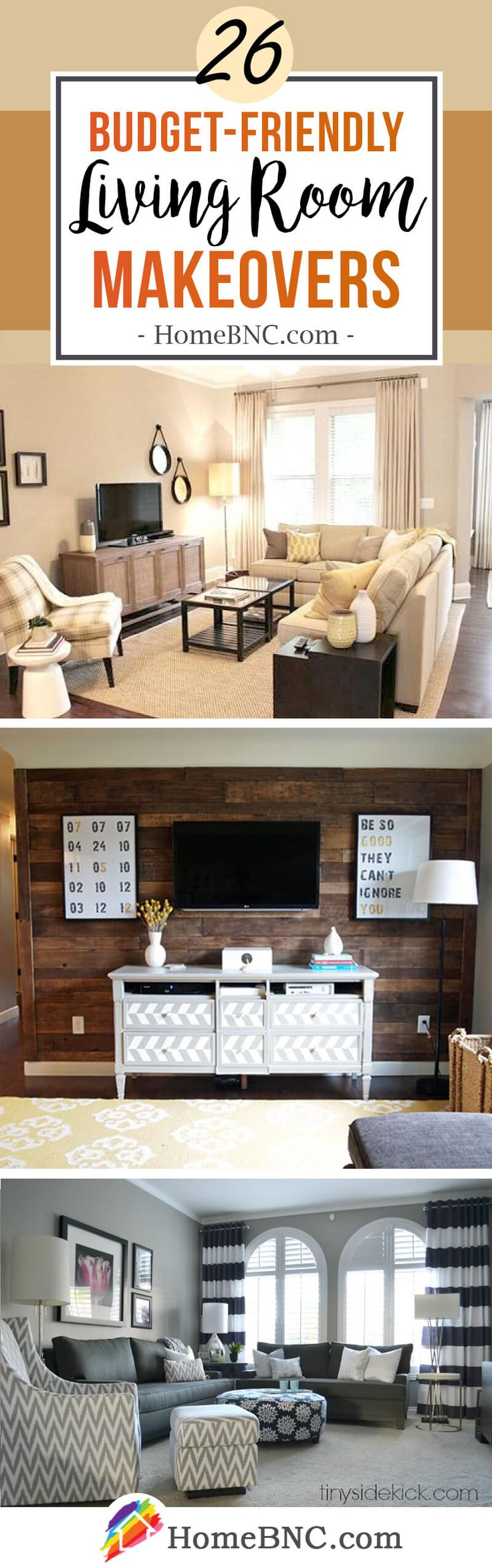 26 Best Budget Friendly Living Room Makeover