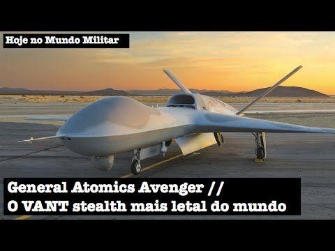 General Atomics Avenger, o VANT stealth mais letal do mundo - YouTube