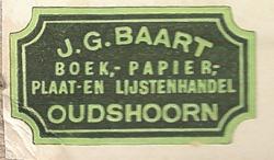 Boekhandel J. G. Baart, Oudshoorn