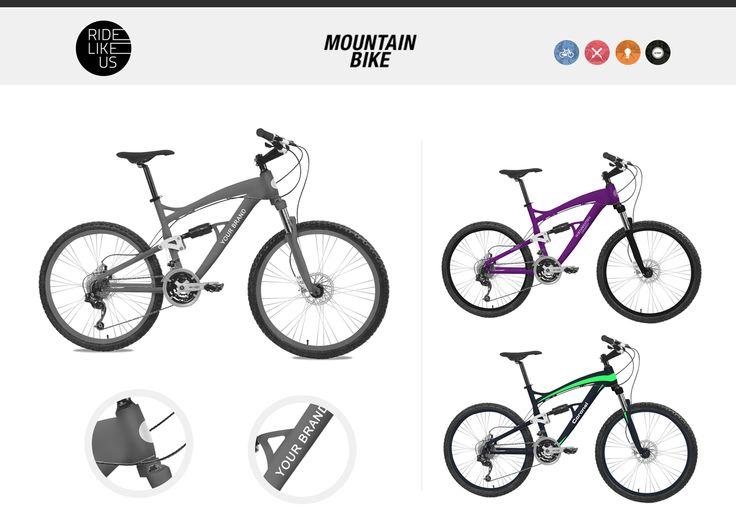 Your Brand Here - Mountain Bike | Ride Like Us