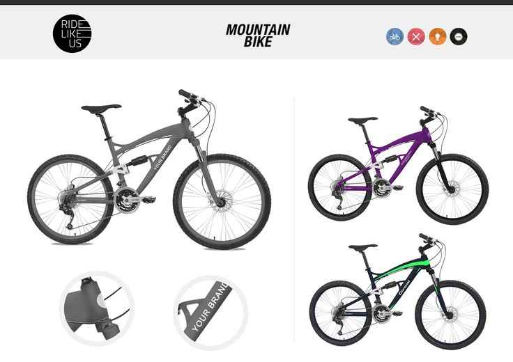 Your Brand Here - Mountain Bike | Ride Like Us