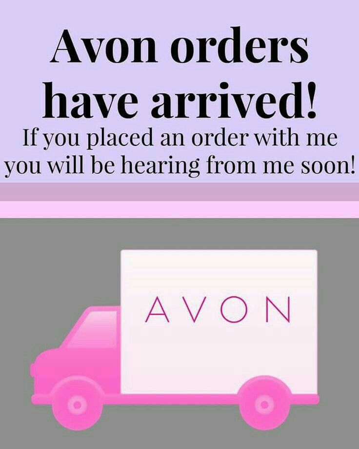 Your Avon have arrived!!                                                                                                                                                                                 More