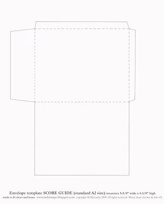 500 best Envelopes and Templates images on Pinterest Envelopes - a2 envelope template