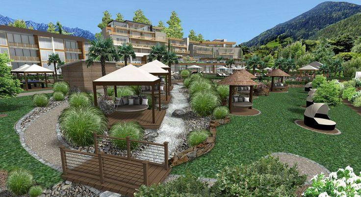 Willkommen im Alpiana Resort im sonnigen Lana bei Meran. Das Hotel befindet sich in bester Lage und ist der ideale Urlaubsort zum Wohlfühlen.