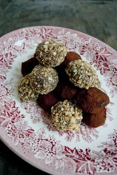 Chocolade truffels met hazelnoten - Season with love