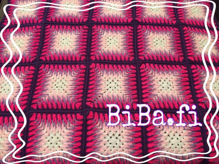 Virkattu peitto - BiBa