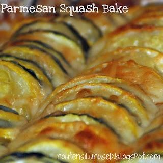Parmesan Squash Bake - oh MY!!