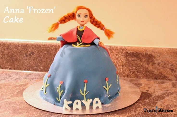 Anna Frozen Cake