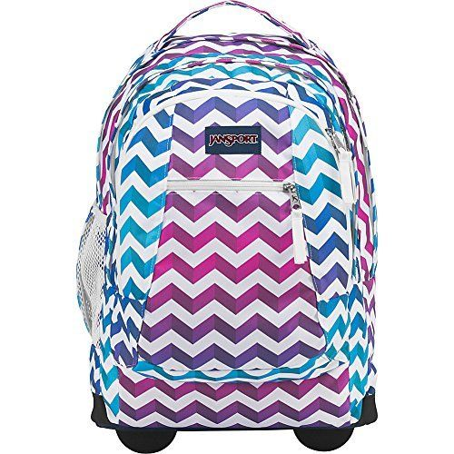 JanSport Driver 8 Rolling Backpack- Sale Colors (Shadow Chevron).