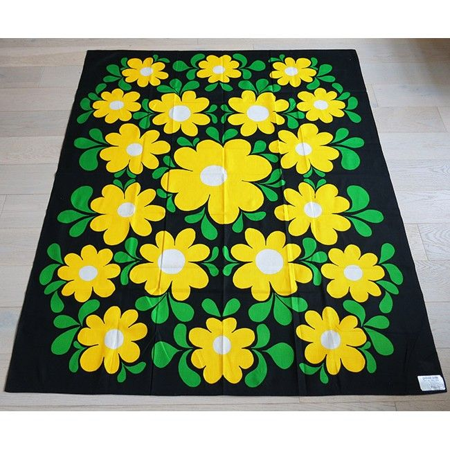 Finlayson Finland 1970s as new bold flowers tablecloth  sc 1 st  Pinterest & 110 best Vintage Fabric - Finlayson images on Pinterest | Vintage ... pezcame.com