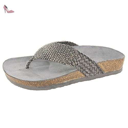 Glitter Thongs, Mules Femme, Beige (Cream Beige), 36 EUEsprit