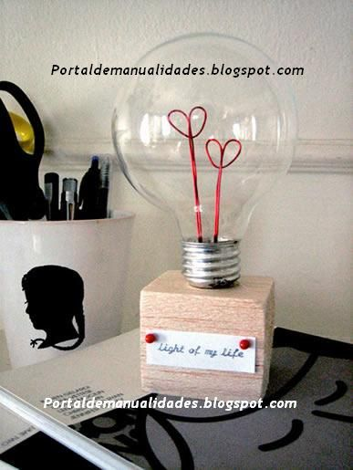 the light of my life....so, i can't read the instructions, but there are pics and this is cute