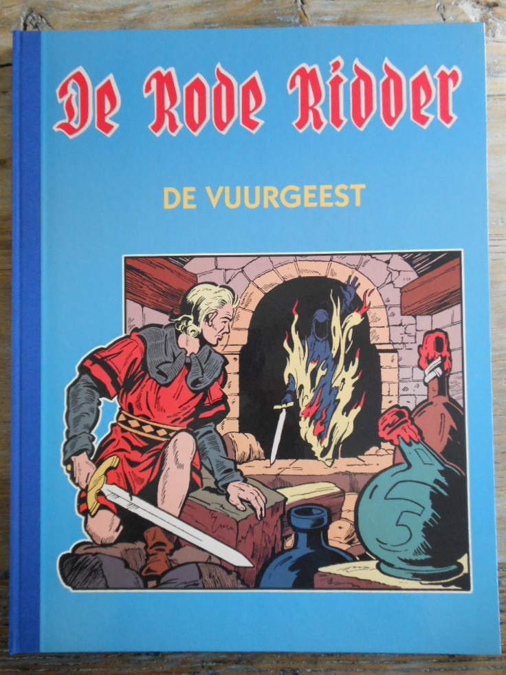 De Rode Ridder - De Vuurgeest
