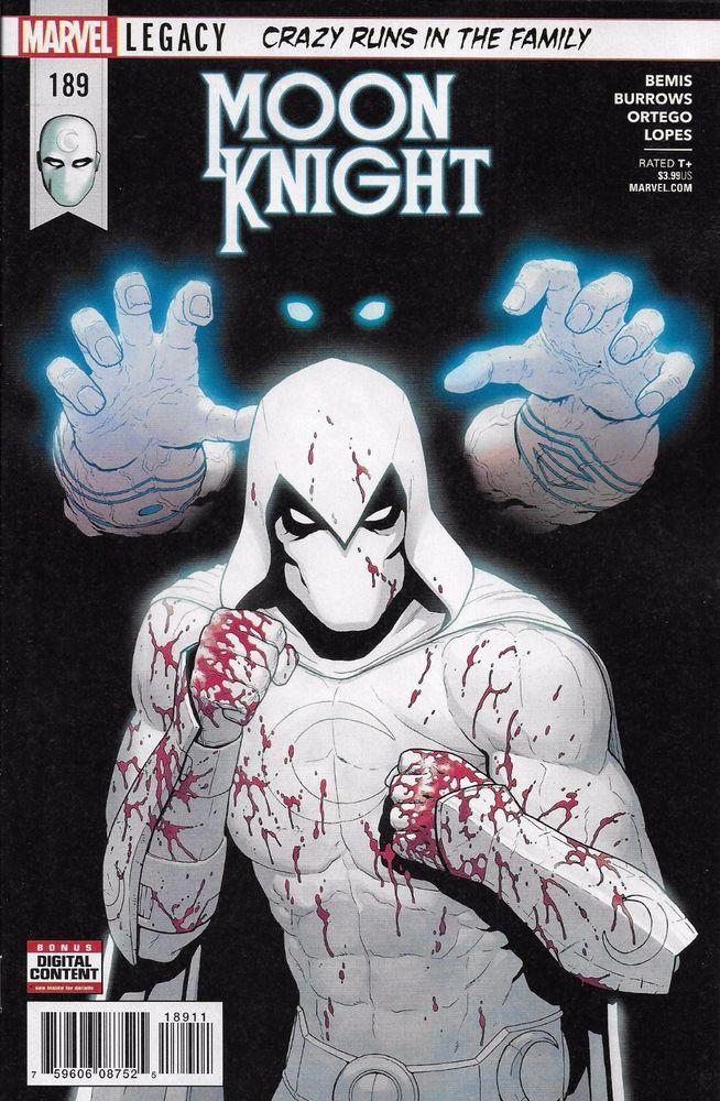 Marvel Moon Knight comic issue 189