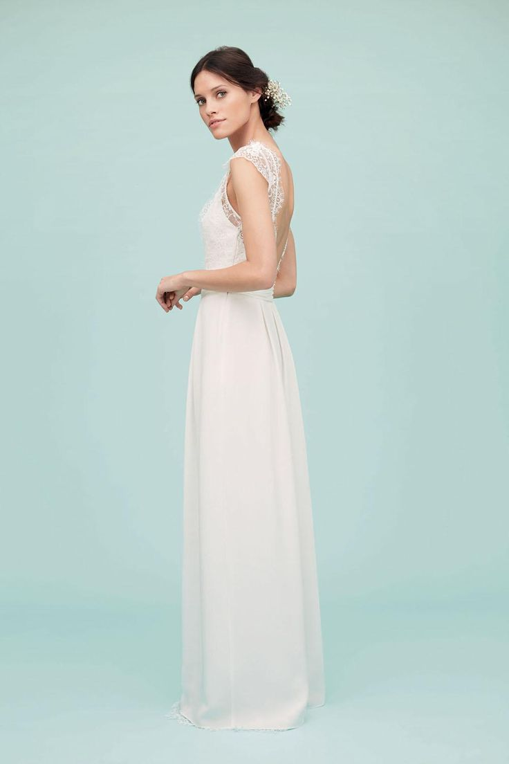 Mejores 43 imágenes de Wedding gown en Pinterest | Vestidos de novia ...