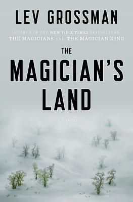 The Magician's Land - the last book in Lev Grossman's Magicians Series. I just finished it and it's a great ending to a wonderful series! 8.13.14