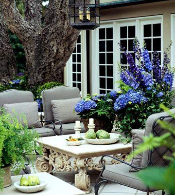 beautiful patio -