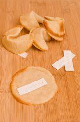Fifth Grade Desserts Activities: Fortune Cookie Recipe