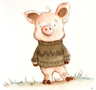 little pig (illustrated)