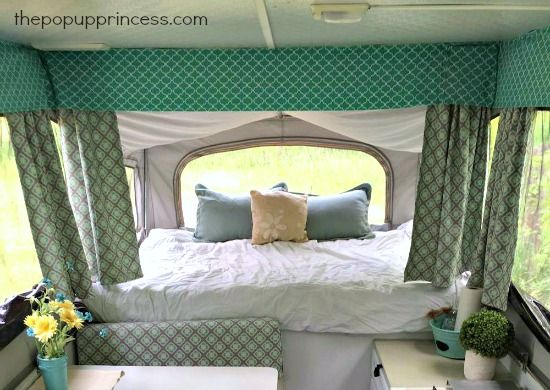 32 best images about camper curtains windows on for Colors that pop out