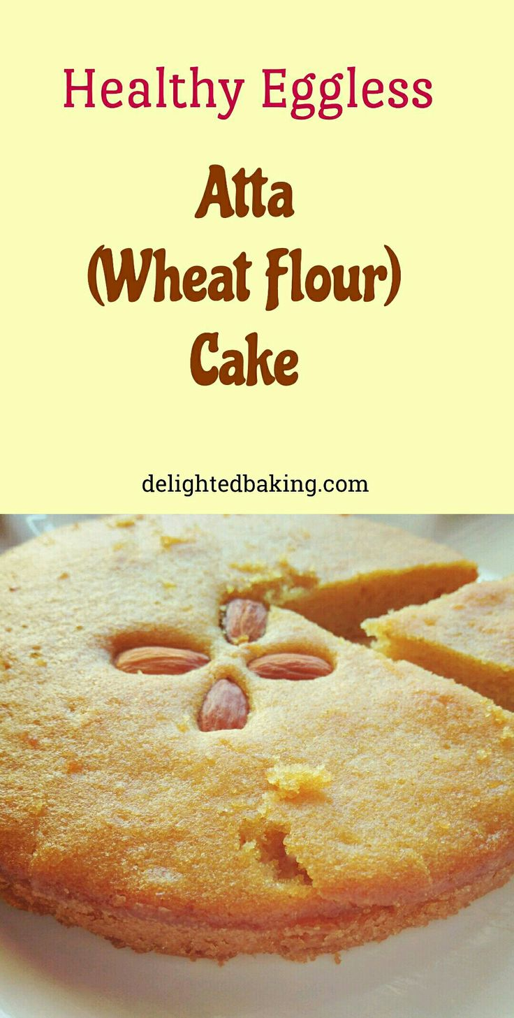 Healthy atta (Wheat Flour) cake is an instant wheat flour cake recipe. It's a one bowl cake recipe. Healthy cake recipe. Wheat flour cake recipe. Atta cake recipe. Eggless cake recipe. Healthy cake.