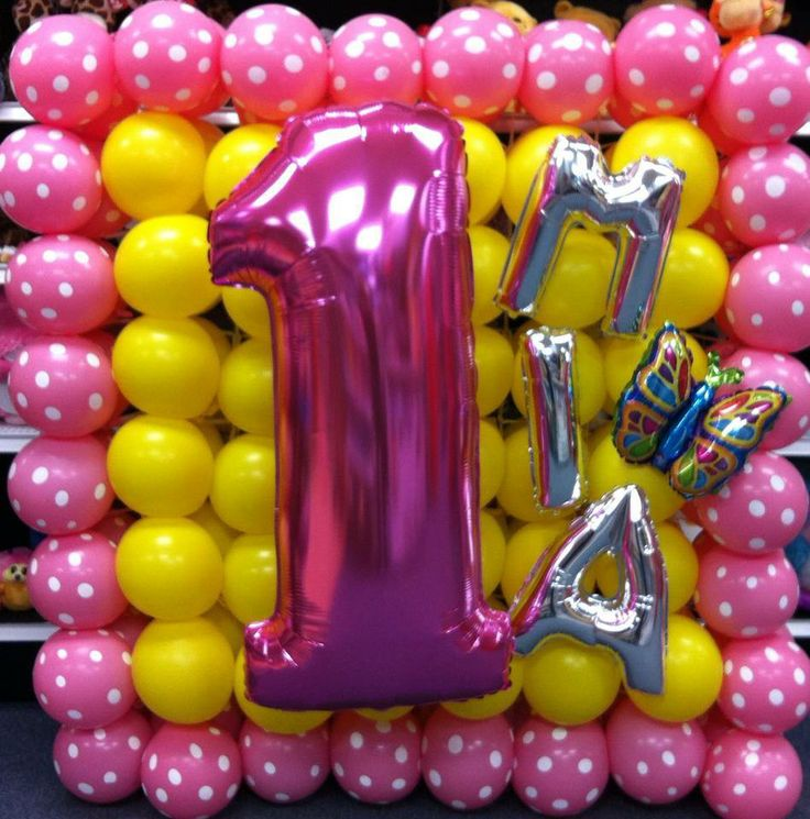 1580 best images about balloon decorating on pinterest for Balloon decoration on wall for birthday