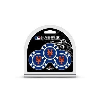 New York Mets Golf Chip with Marker 3 Pack
