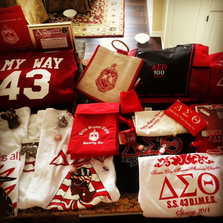 Delta Sigma Theta gifts galore! OO~OOP