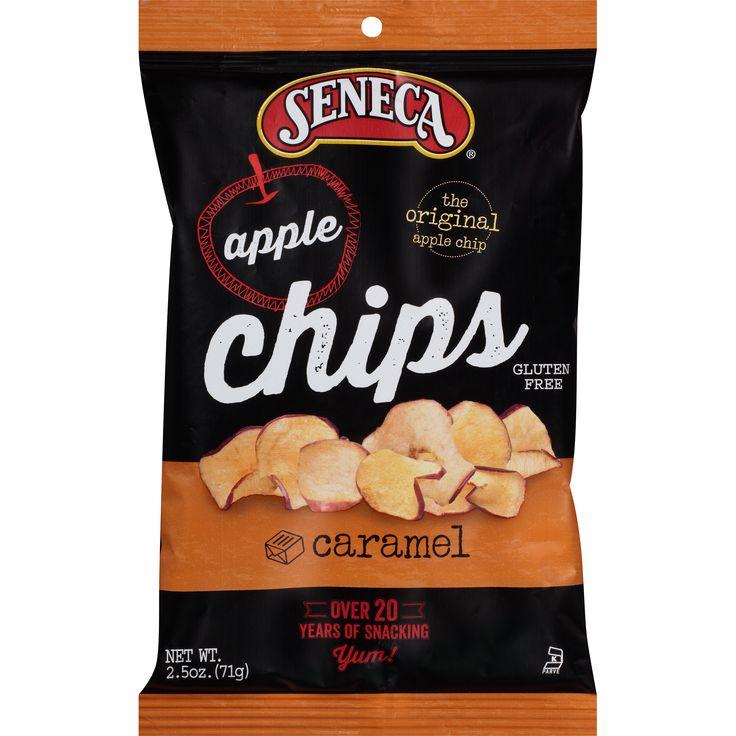 Seneca Apple Chips - Caramel 2.5oz.