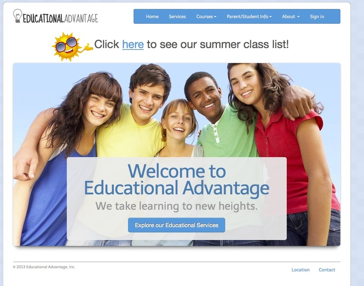 Educational Advantage Website