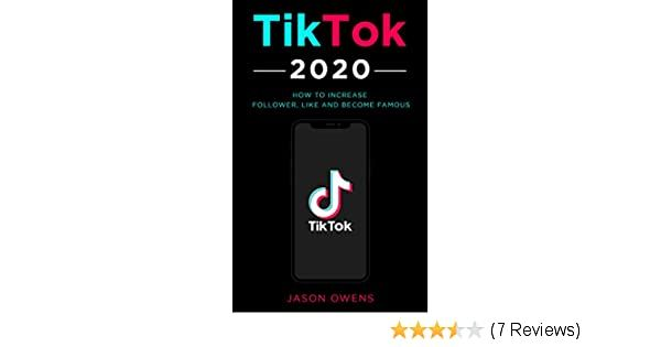 Amazon Com Tiktok 2020 How To Increase Follower Like And Become Famous Ebook Owens Jason Kindle Store In 2020 Heart App How To Get Followers Increase Followers