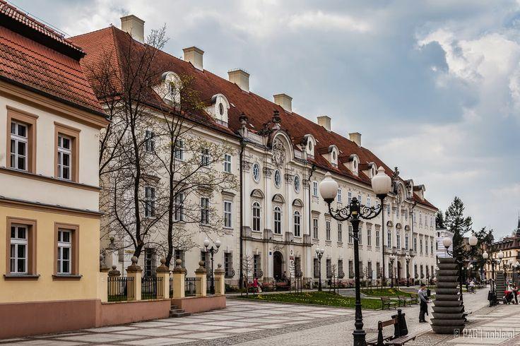 Schaffgotschpalais (Schaffgotsch palace) in Cieplice Slaskie-Zdroj (Bad Warmbrunn) near Jelenia Gora (Hirschberg), Poland