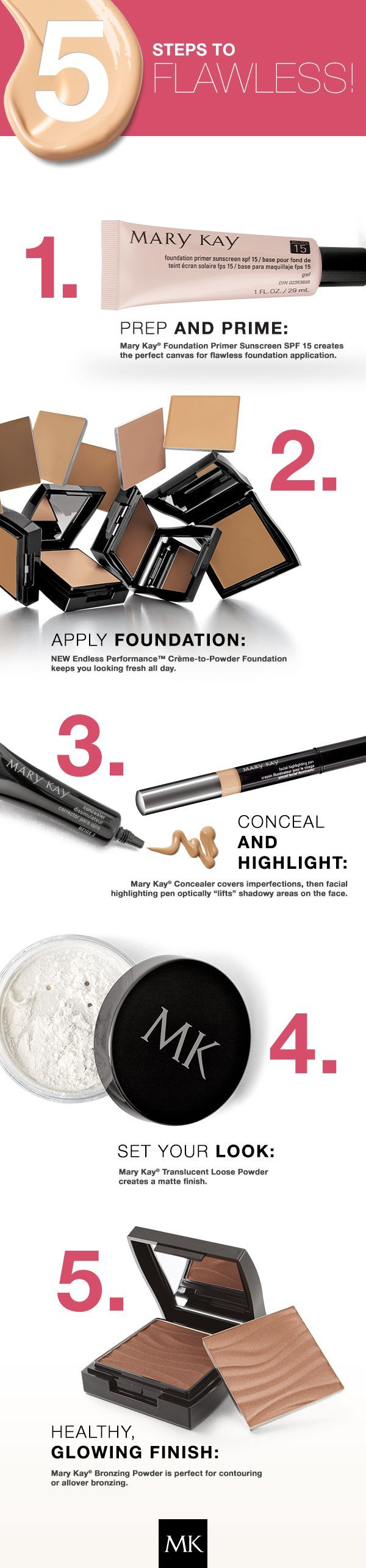 Mary Kay makeup NEW AND BEAUTIFUL!!!! As a #Mary Kay #beauty consultant I can help you, www.marykay.com/norquissanabria Call or text today for a very special discount 407-310-4861