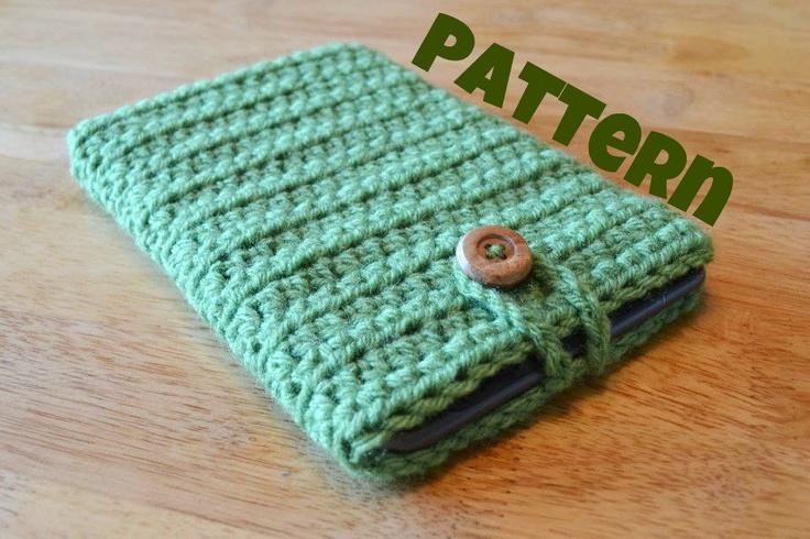 Crochet Pattern - Ebook, Tablet Sleeve. $3.25, via Etsy.