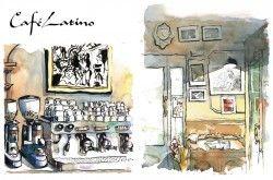 Booklet cafes
