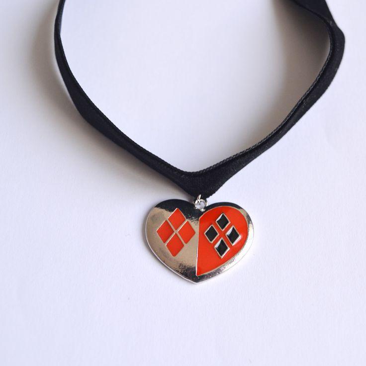 Suicide Squad harley quinn velvet necklace charm //Price: $12.99 & FREE Shipping //     #arkhamknight #superman #wonderwoman #thedarkknight #superheroes #harley #margotrobbieharleyquinn