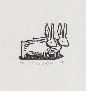 Noah's Rabbits by Christopher Brown