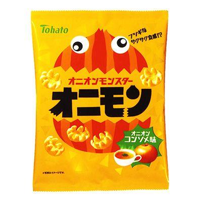 オニモン <オニオンコンソメ味> - 食@新製品 - 『新製品』から食の今と明日を見る!
