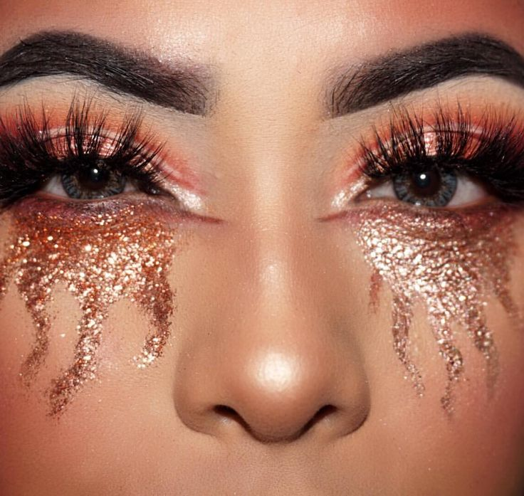 Pin by Luxy Lash on Luxy Lash Features | Glitter Makeup ...