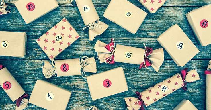 1001 Adventskalender Ideen zum Füllen, unterteilt in Männer, Frauen und Kinder.
