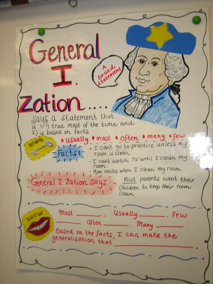 Generalizations Comprehension Skill This Resource Comes With Quot