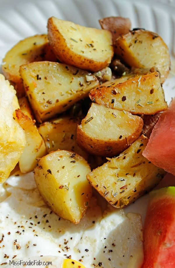 Rosemary Roasted Breakfast Potatoes | Recipe