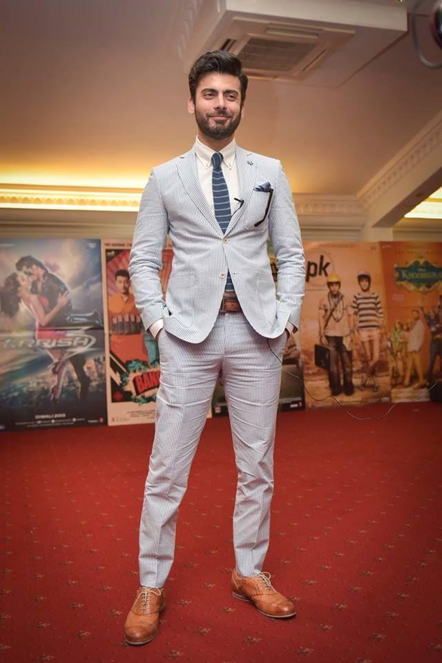 Mr elegant in London. #FawadKhan