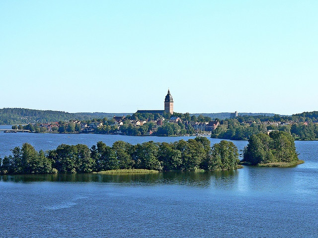 A small town at the lake Mälaren, Sweden - Strängnäs, Sweden by Olof S, via Flickr