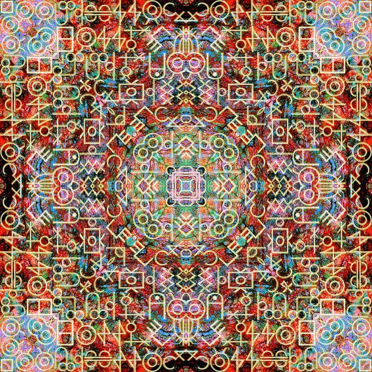 Fook Mandala  52 cm x 52 cm LIMITED Edition Giclee Prints available. http://julianventer.com/ ©julianventer